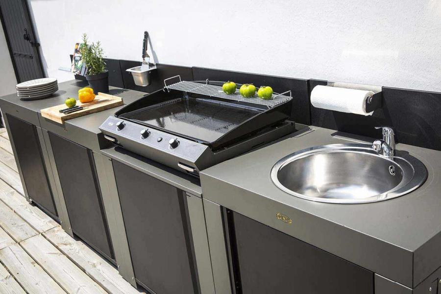 Design outdoor kitchen - Plancha ENO