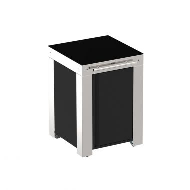 FELIX TROLLEY STAINLESS STEEL AND HPL